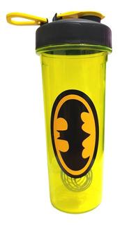 Shaker Batman Design Grande Vaso Gym Caramañola 750 Bpa Free