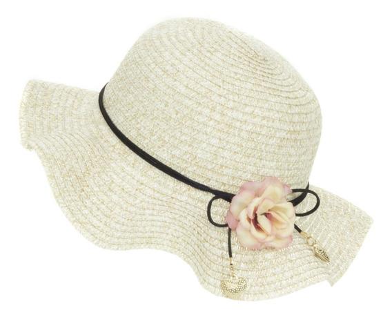 Sombrero De Playa Sol Para Niña Flexible Spn 223-009