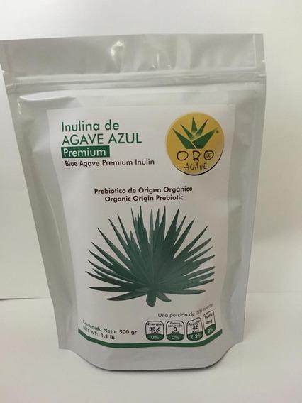 Inulina De Agave Azul De Exportacion 500gr Pura 100%natural