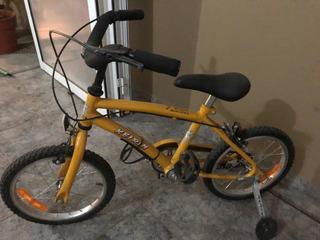 Bicicleta Keirin Rodado 14 Impecable