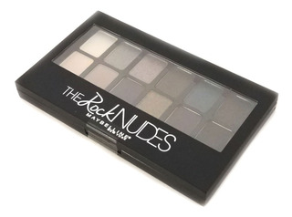 Paleta De Sombras Maybelline New York Palette The Rock Nudes