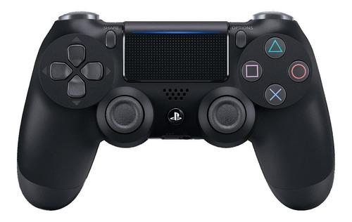 Imagen 1 de 3 de Control joystick inalámbrico Sony PlayStation Dualshock 4 jet black