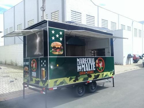 Trailer De Lanches Carrinho De Lanches Food Truck