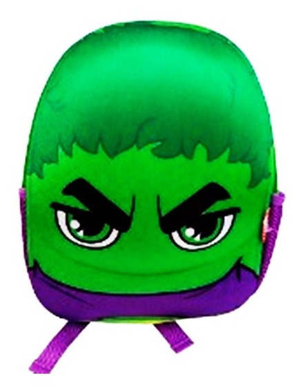 Mochila Hulk Avengers Kinder Vengadores Original Ruz Marvel Oferta