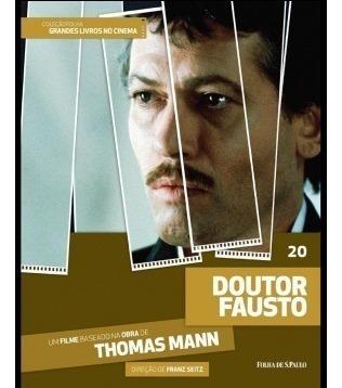 Dvd + Livro Doutor Fausto - Thomas Mann - Franz Seit Vol 20