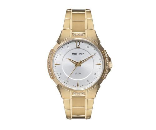 Relógio Orient Feminino Cristais Swarovski Fgss0039 S2kx