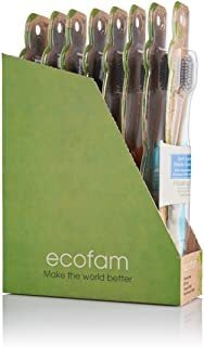 Ecofam Anti-microbial Bristles, Compostable Handle,adult Too