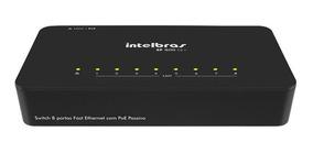 Switch Intelbras 8 Portas 10/100mbps Sf 800q+ 4760005