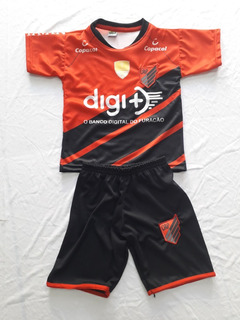 Kit Infantil Athletico Paranaense Preta 2019
