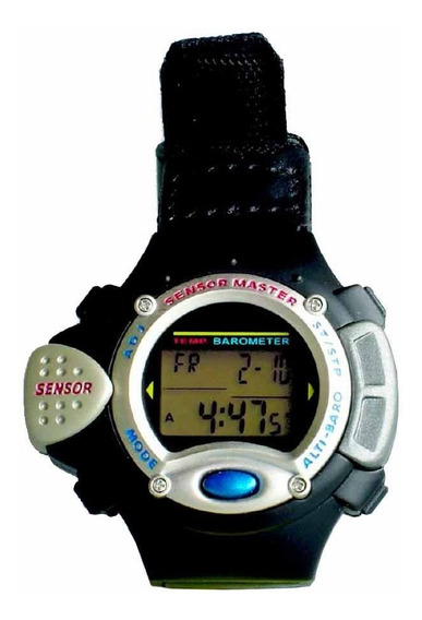 Relógio C/ Altímetro E Barômetro Sensormaster Smw 35 - Csr
