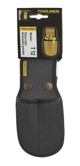 Porta Lapiz Lapiceras Cutter Toolmen T12 Doble Para Cinturon
