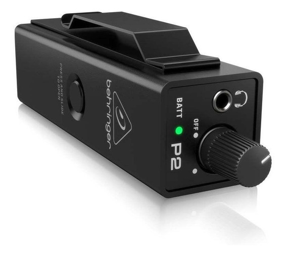 Pré-amplificador Behringer Powerplay P2 Monitor Pessoal