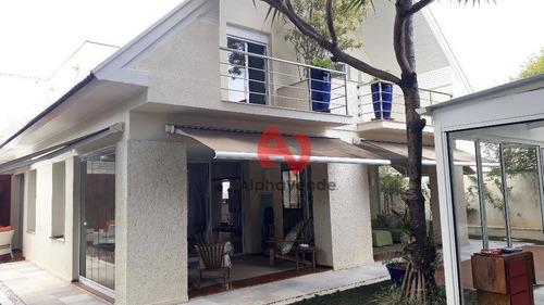 Imagem 1 de 30 de Casa Residencial À Venda, Alphaville Residencial Dois, Barueri - Ca6074. - Ca6074