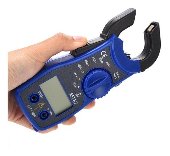 Pinza Amperimetrica Tester Multimetro Digital Amperimetro