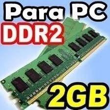 Memoria Ram Ddr2 2gb Para Pc Con Garantía