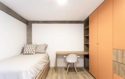 Habitaciones De Lujo En Residencia Estudiantil