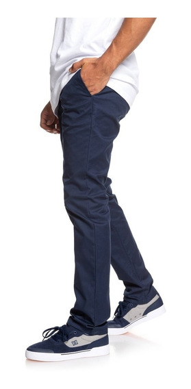Pantalon Dc Worker Slim Chino Blue Temporada 20202