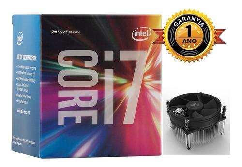 Processador Intel I7 3770 3.4ghz Lga1155 Gar 1 Ano C/cooler.