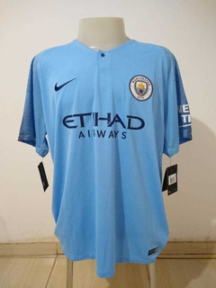 Camisa Manchester City Nike Home 2018/2019 Original