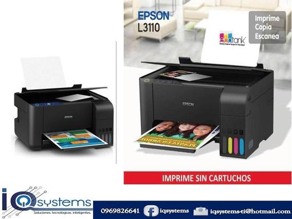 Impresora Epson Multifuncion L3110