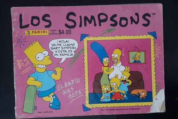 Álbum Panini Los Simpsons 1991 Le Faltan 12 Estampas.