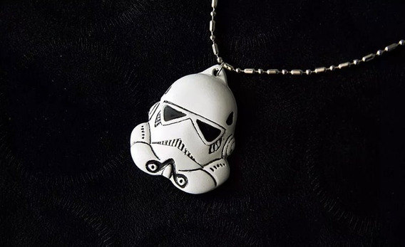 Colar Stormtrooper Star Wars