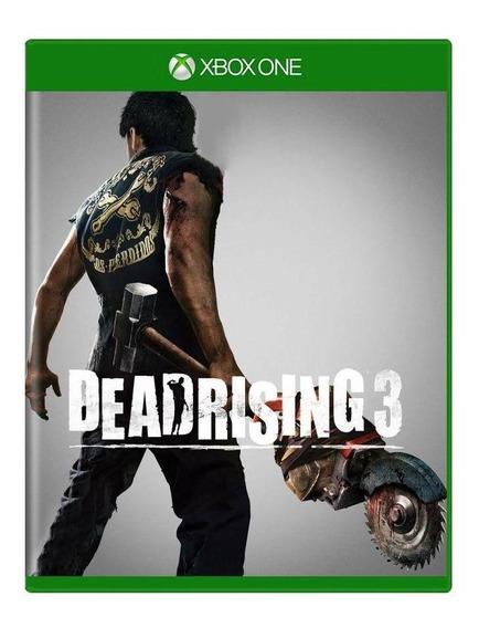 Dead Rising 3 Xbox One Mídia Física Pronta Entrega
