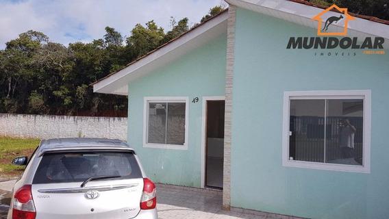 Casa Residencial À Venda, Costeira, Araucária - Ca1317. - Ca1317