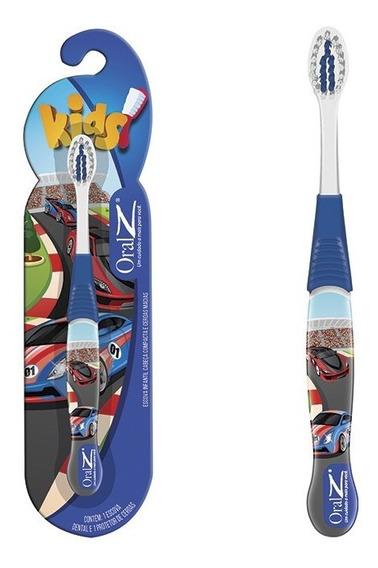 Escova Dental Macia Infantil Carros Dentes