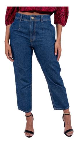Imagem 1 de 4 de Calça Jeans Mom Feminina Revanche Catia
