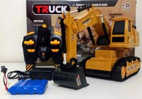 Escavadeira Brinquedo Infantil Xm-6811