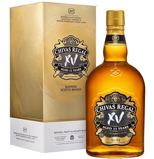 Chivas Regal Xv Whisky Escoces 15 Años Con Estuche