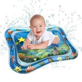 Esteira Água Colchão Inflável Atividades Tapete Bebê Bebês