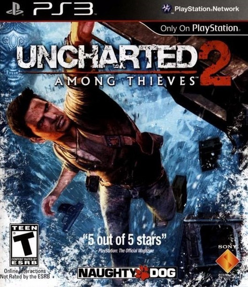Uncharted 2 - Among Thieves (mídia Física) - Ps3