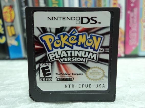 Pokémon Platinum Version - Nintendo Ds - Em 12x Sem Juros !!