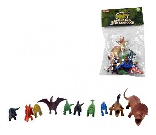 Animais Jurassicos Dinossauros Pvc/plástico Pronta Entrega