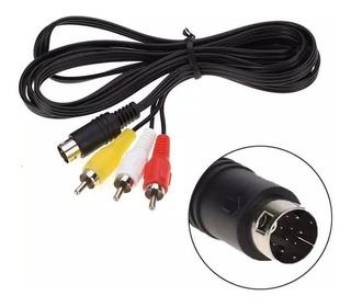 Cable De Audio Y Video Av Sega Génesis 2 Y 3