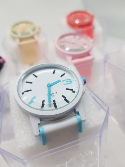Kit 05 Relógios Feminino Esportivo Atacado+caixa De Acrílico