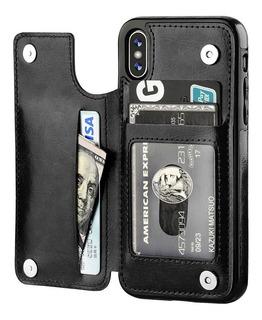 Protector Billetera iPhone X Xs Lugar Para Tarjetas Y Ci ®