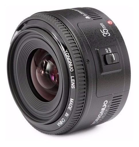 Lente Yongnuo Yn 35mm F/2 Para Canon - Nota Fiscal!