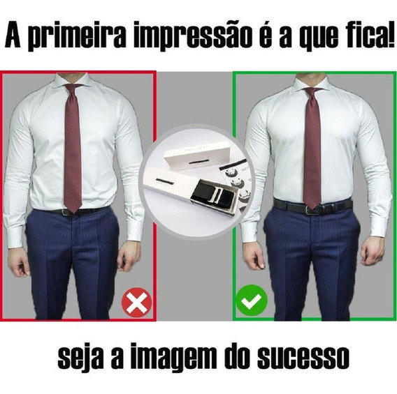Cinto Camisa Social Acessorio Calça Slim Belt Elástico