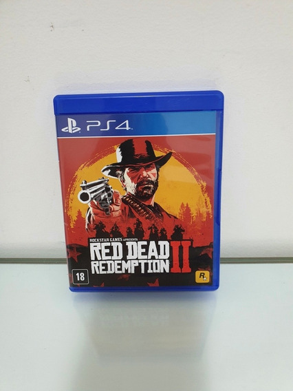 Red Dead Redemptation 2 Ps4