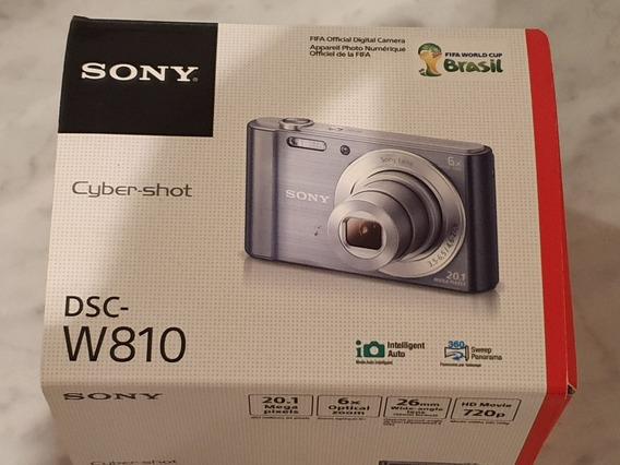 Câmera Fotográfica Sony 20.1 Dsc-w810