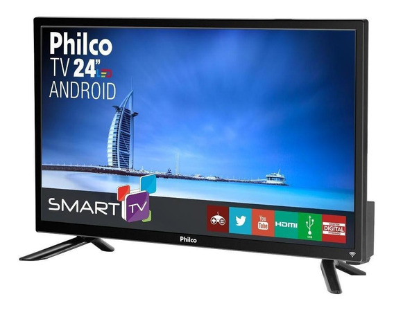 Smart Tv Philco 24 Led Full Hd Android Ptv24n91sa