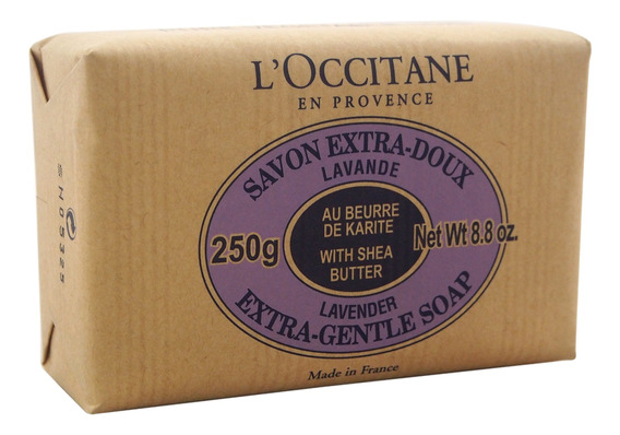 Sabão Extra Suave Manteiga Karité - Alfazema Por Loccitane P