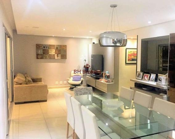 Apartamento De 3 Quartos, 126m² À Venda No Vila Da Serra Por R$ 1.150.000 - 17890