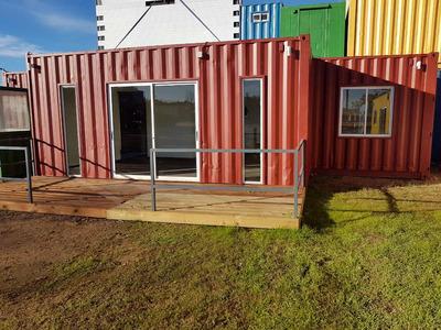 Casa Contenedor De 2 Dormitorios U$s 18300 + Iva