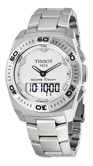 Relógio Suiço Tissot Racing Touch T0025201103100 T-touch Eta
