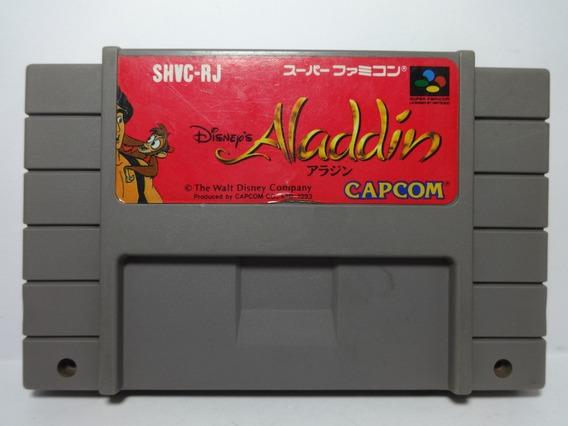 Aladdin Super Nintendo Snes Aladin