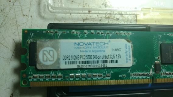 Memoria Ram Ddr2 512mb Novatech
